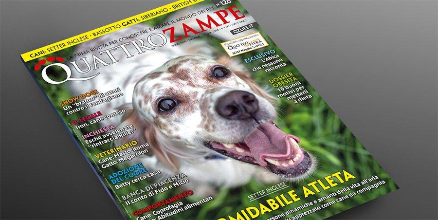 Siamo sul magazine Quattro Zampe!
