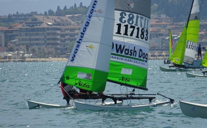 Wash Dog Sailing team: regata di Pescara