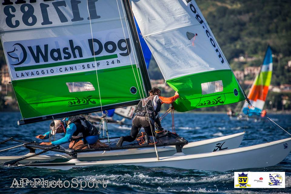 Bracciano 2018. Campionato Italiano Hobie Cat 16 Classic