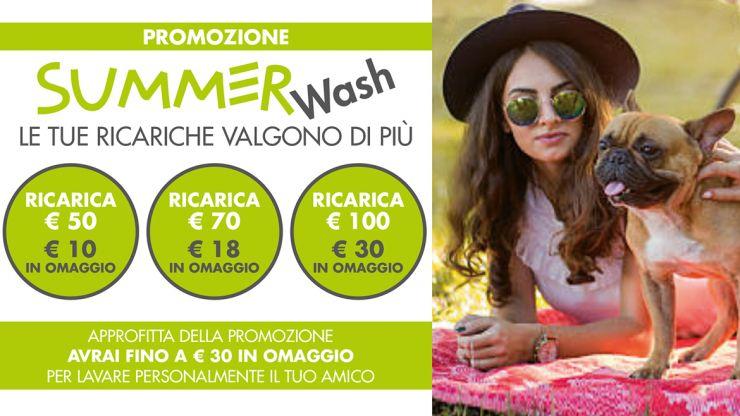 Promozione Summer Wash 2019